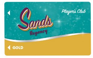 Gold Level Players Club Card