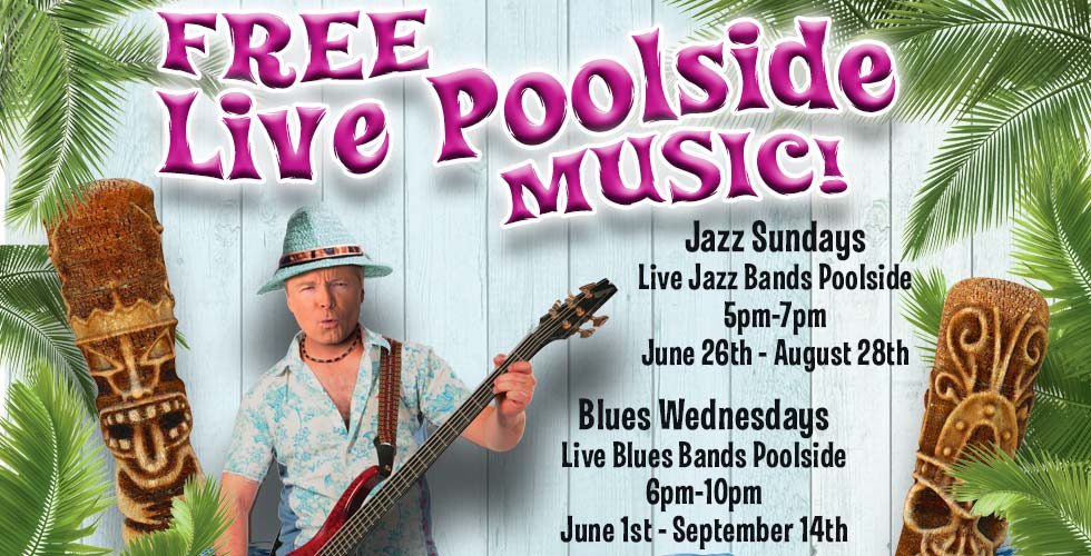 Sands Blues Pool Party - Tony Ghiglieri