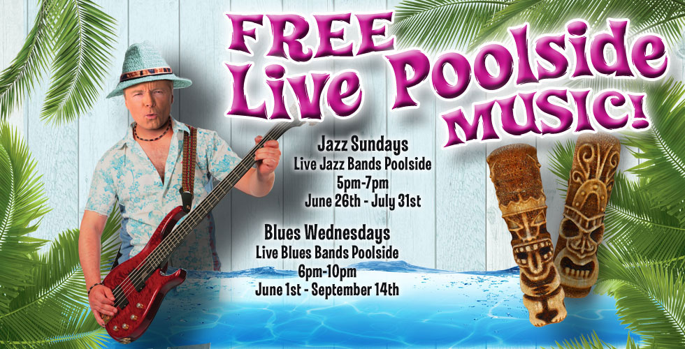 Sands Blues Pool Party: Tony Ghiglieri