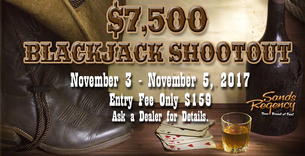 $7,500 Blackjack Shootout - Promotions & Casinos in Reno NV