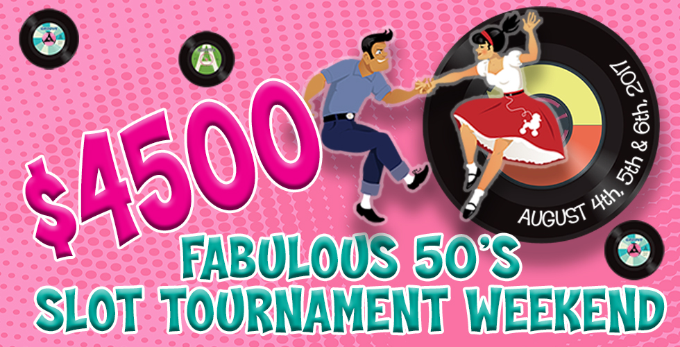 50s Slot Tournament - Promotions & Casinos in Reno NV