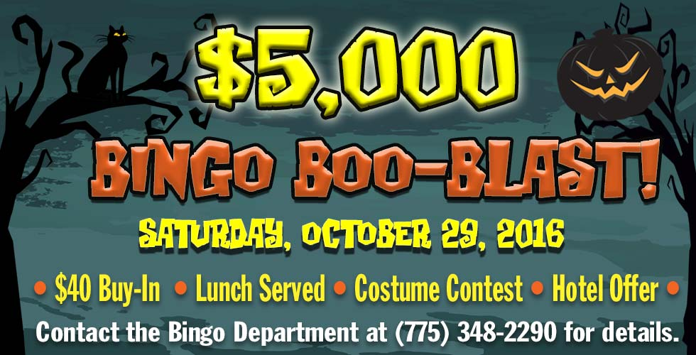 Bingo Boo Blast - Best Casinos in Reno NV