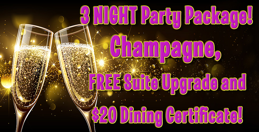 New Years Eve - Reno Hotel Deals - 3 Night Party Package