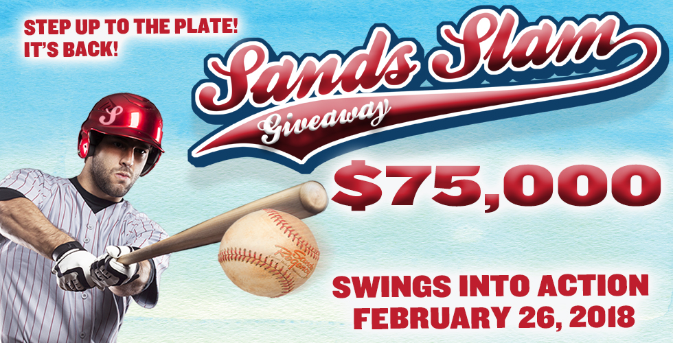 The $75,000 Sands Slam