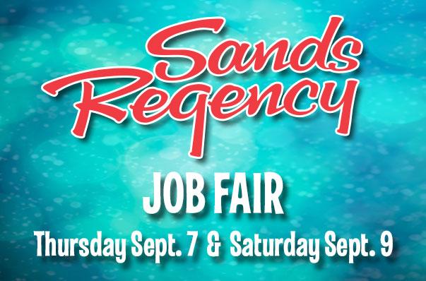 Sands Regency Job Fair