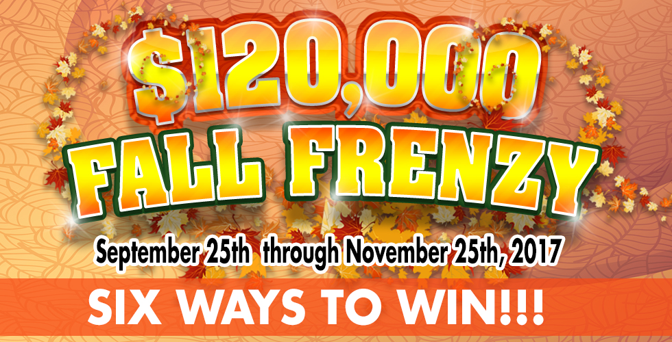 Fall Frenzy - Promotions & Casinos in Reno NV
