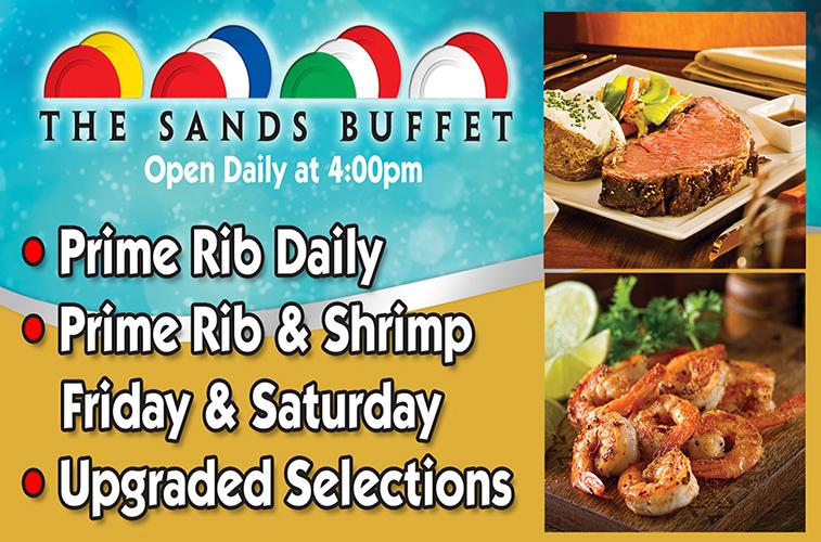 The Sands Buffet - Restaurants in Reno NV