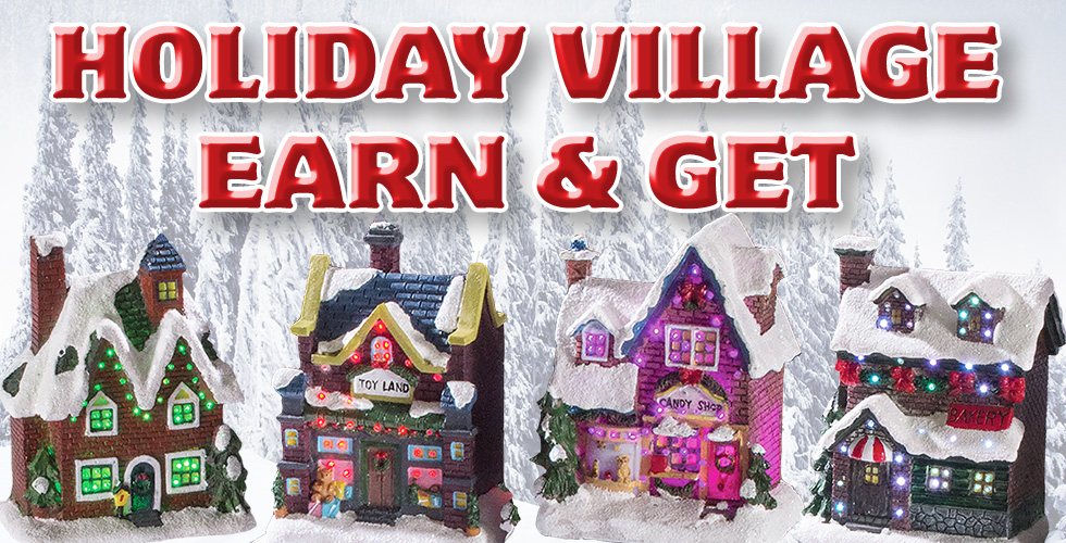 Holiday Village Earn and Get