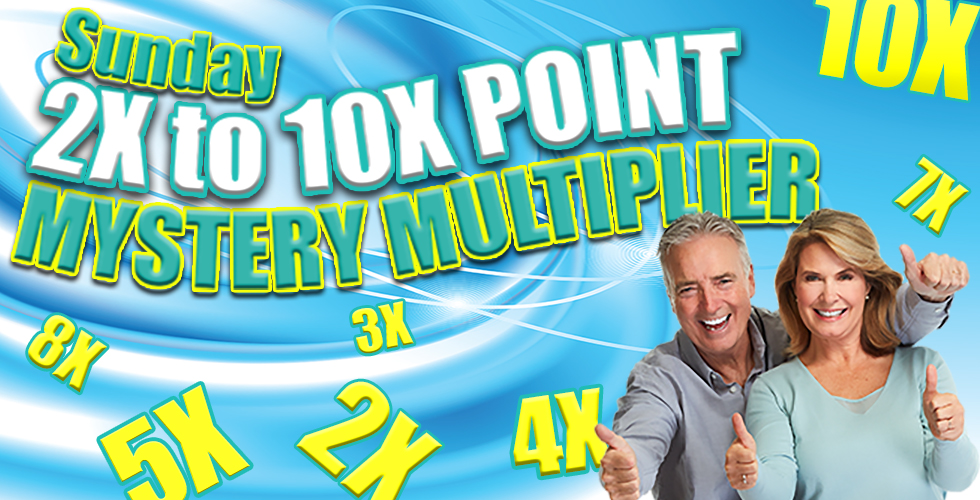 Sunday Mystery Point Multiplier