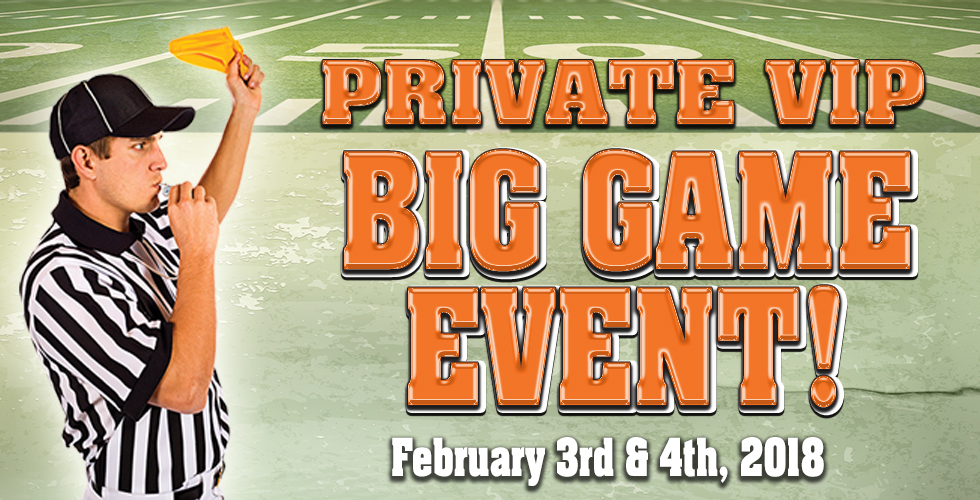 vip big game events bars in reno