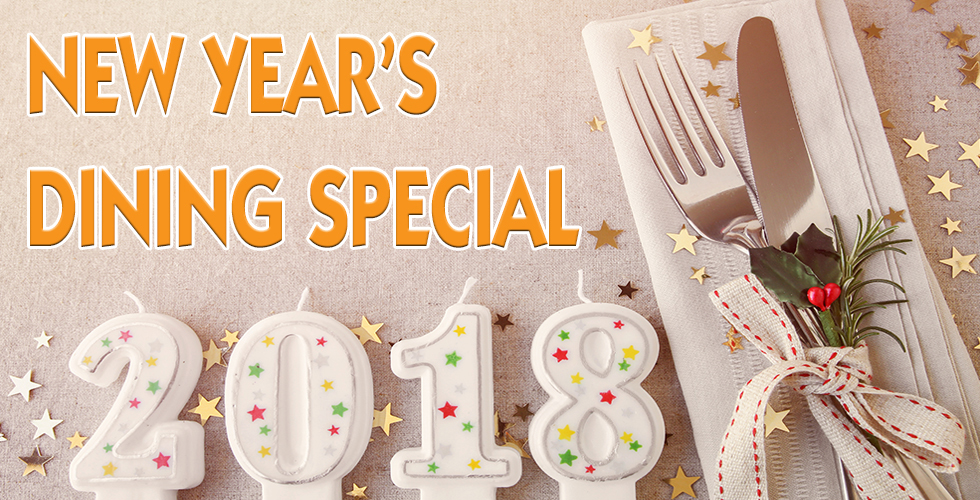 New Year's Dining Specials
