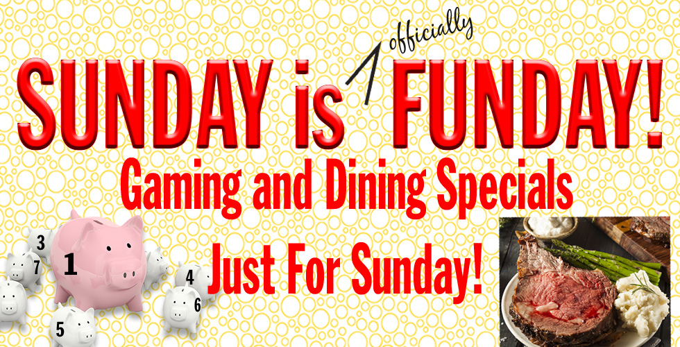 sunday is funday casino promotions