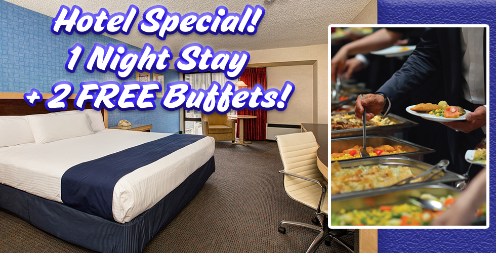 1 night 2 free buffets reno hotel deals