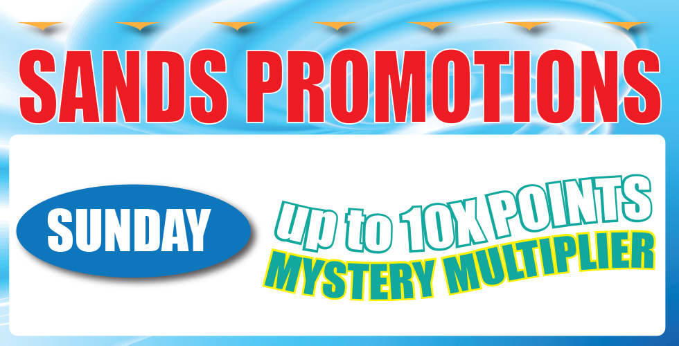 Sunday Mystery Point Multiplier Day