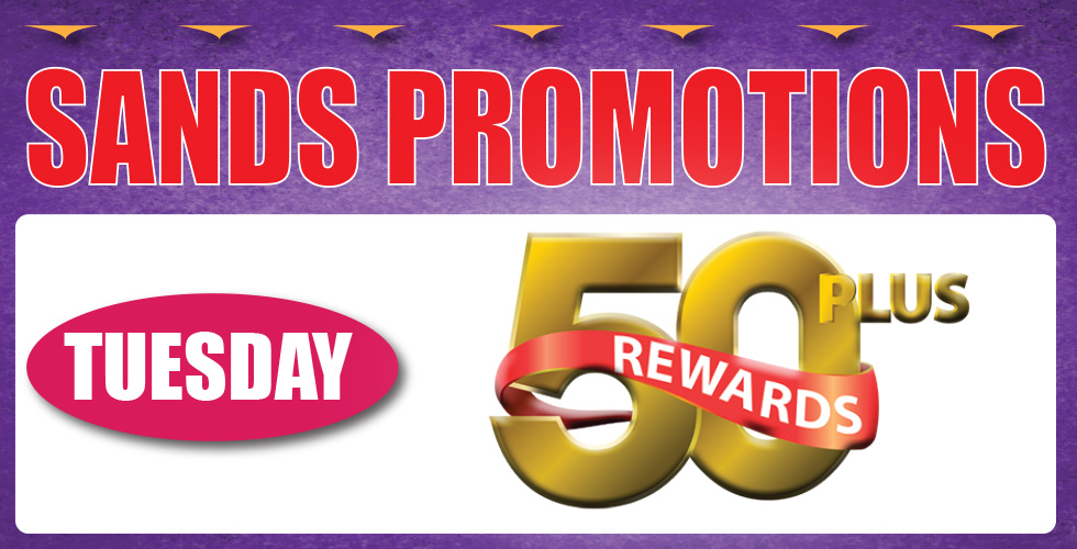 50 plus casino promotions