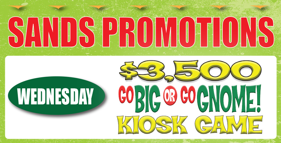 kiosk game casino promotions