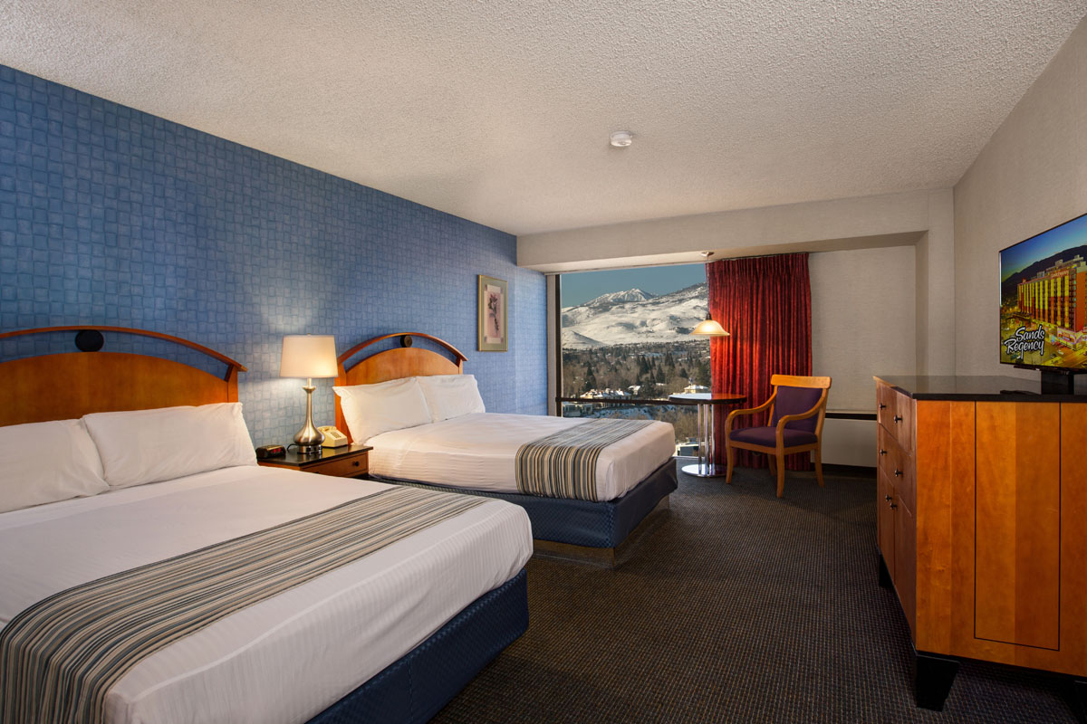 hotels in reno nv standard non smoking two queens