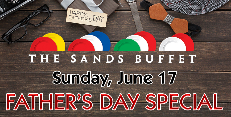 Father's Day at The Buffet
