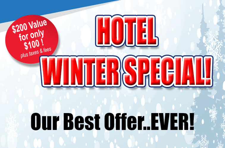Winter Special at the Sands
