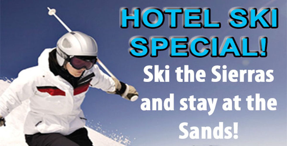 Hotel Ski Special at the Sands