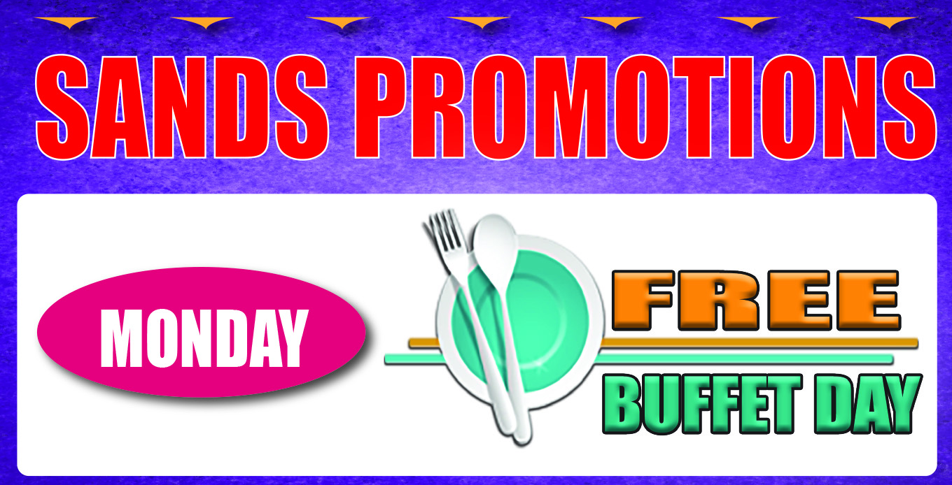 Monday Earn and Get Buffet Day
