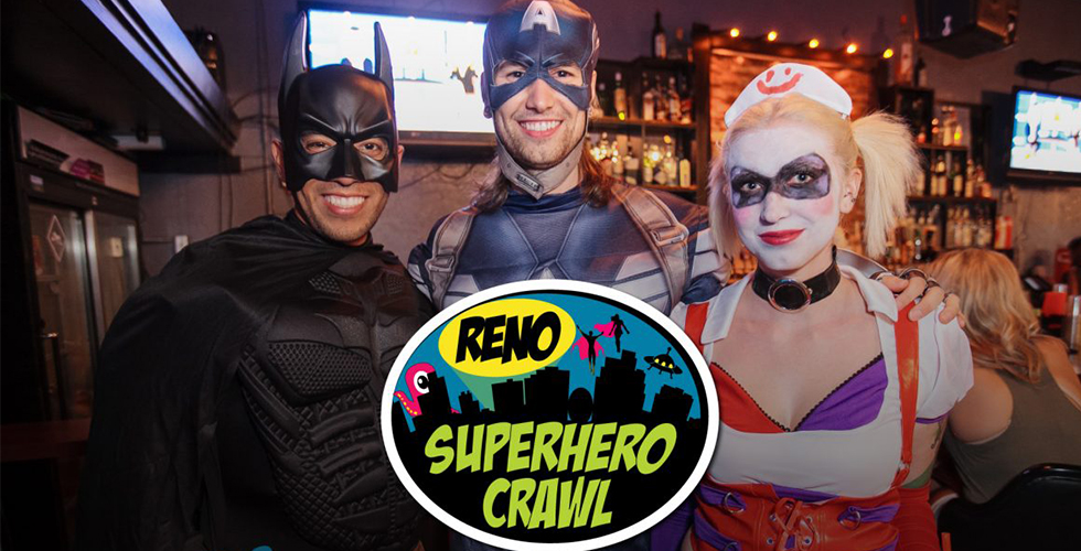 RENO SUPERHERO CRAWL 2019