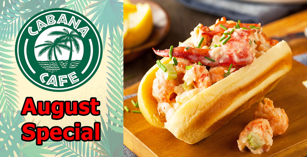 Cabana Seafood Roll Special- only $8.99