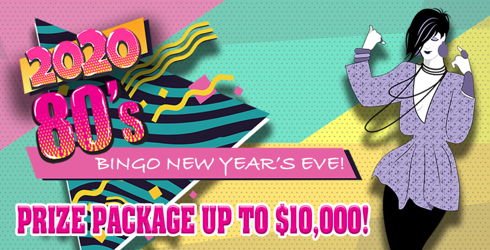 Bingo in the New Year with us!