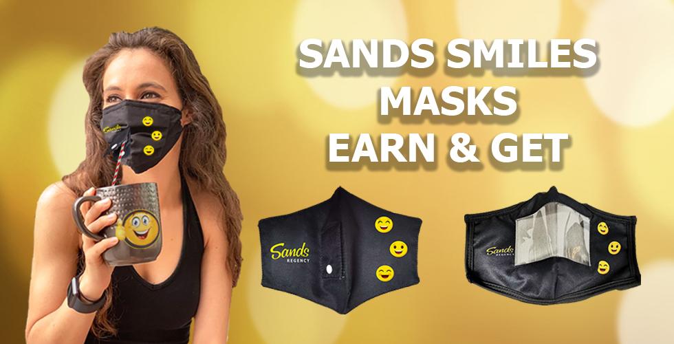 Earn & Get -  Sands Smile Masks