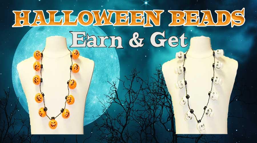 Earn & Get -  Halloween Beads
