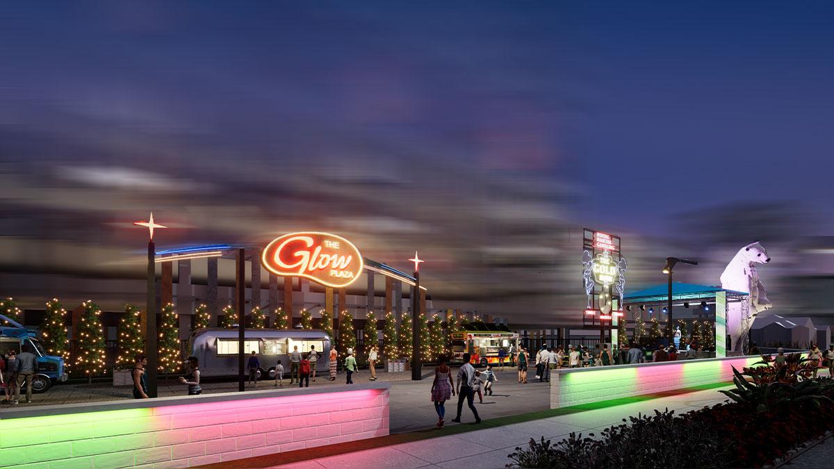 Glow Plaza